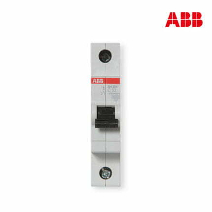 ABB Miniature Circuit Breakers MCB   SH201 Series 6kA Single Pole Breaker   Made in Germany (32A MCB)
